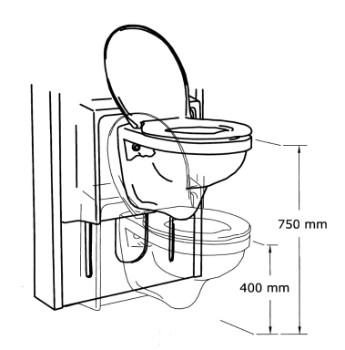 lift toilette silver care gl projects hilfe f r menschen. Black Bedroom Furniture Sets. Home Design Ideas